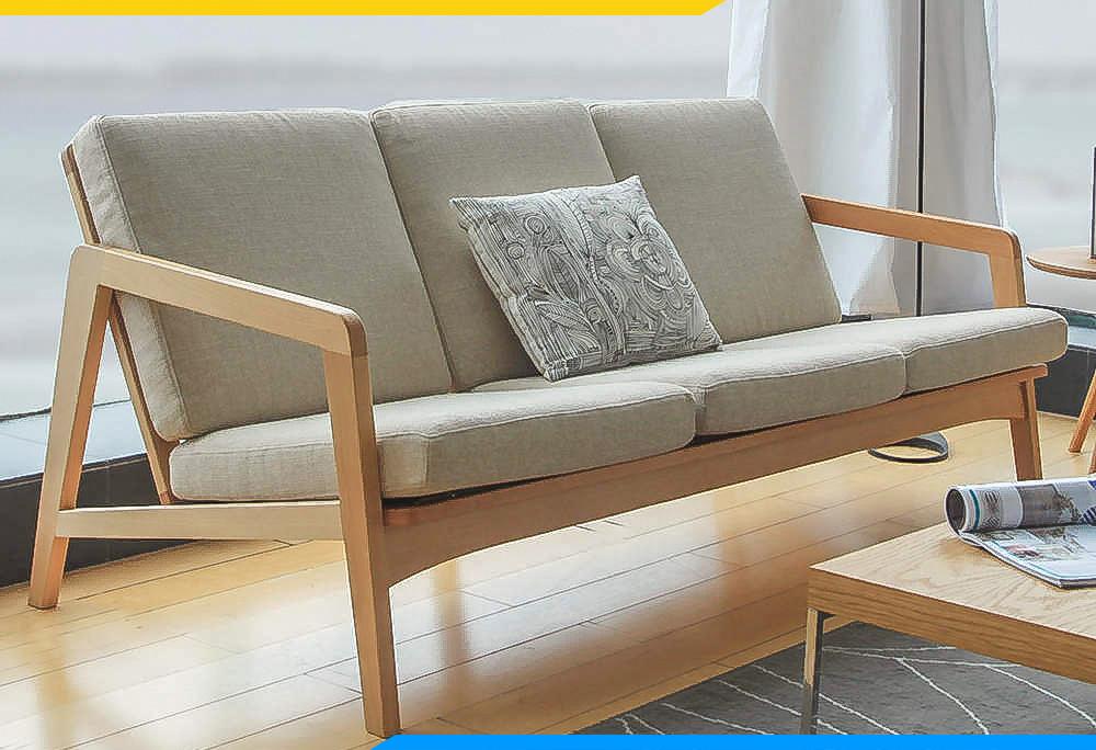 sofa văng 3 chỗ đơn giản