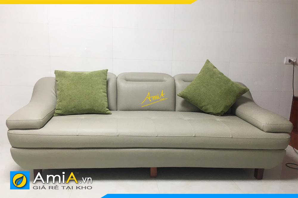 Hình ảnh Sofa văng da 3 chỗ đẹp hiện đại cho phòng khách