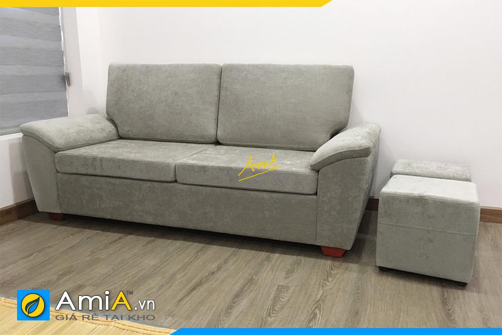 Hình ảnh Sofa văng đẹp 2 chỗ ngồi nhỏ xinh cho nhà nhỏ