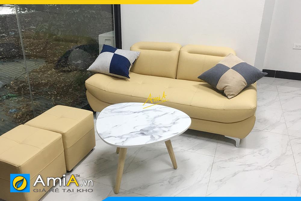 Hình ảnh Sofa văng đẹp 2 chỗ nhỏ xinh xắn