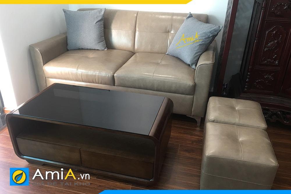 hình ảnh sofa văng đẹp thiết kế 2 chỗ ngồi