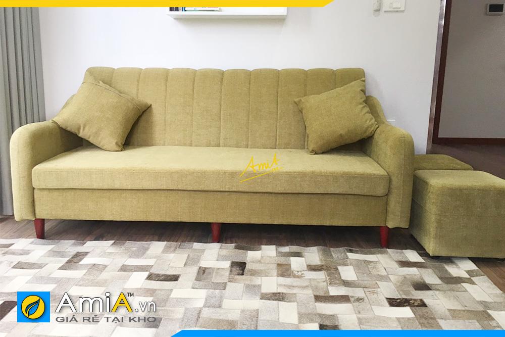 Hình ảnh Sofa văng đẹp chất liệu nỉ hiện đại làm theo yêu cầu