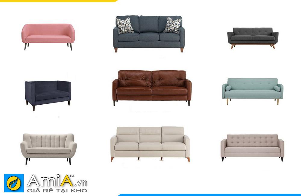 những mẫu sofa văng hiện đại cho quán cafe