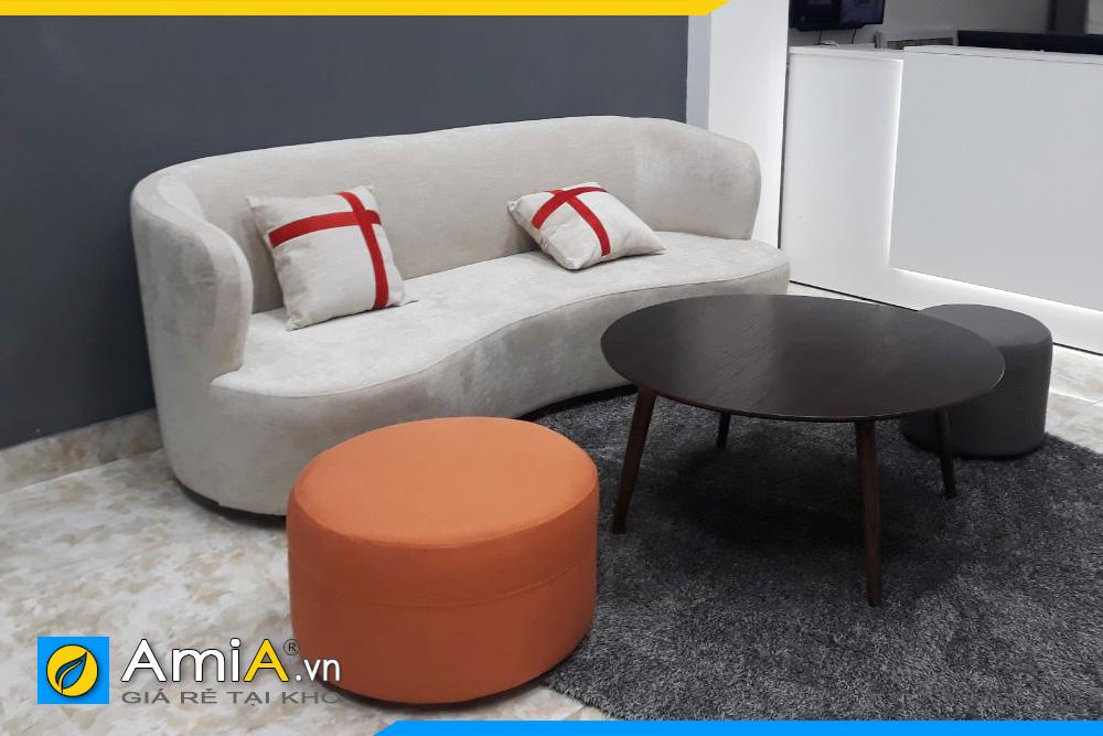 sofa văng nỉ đẹp giá rẻ hà nội