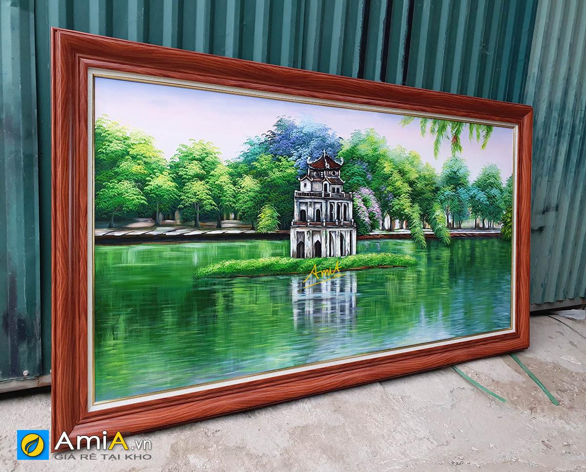 Hình ảnh Tranh treo nhà biệt thự chụp tại xưởng làm tranh AmiA TSD 556