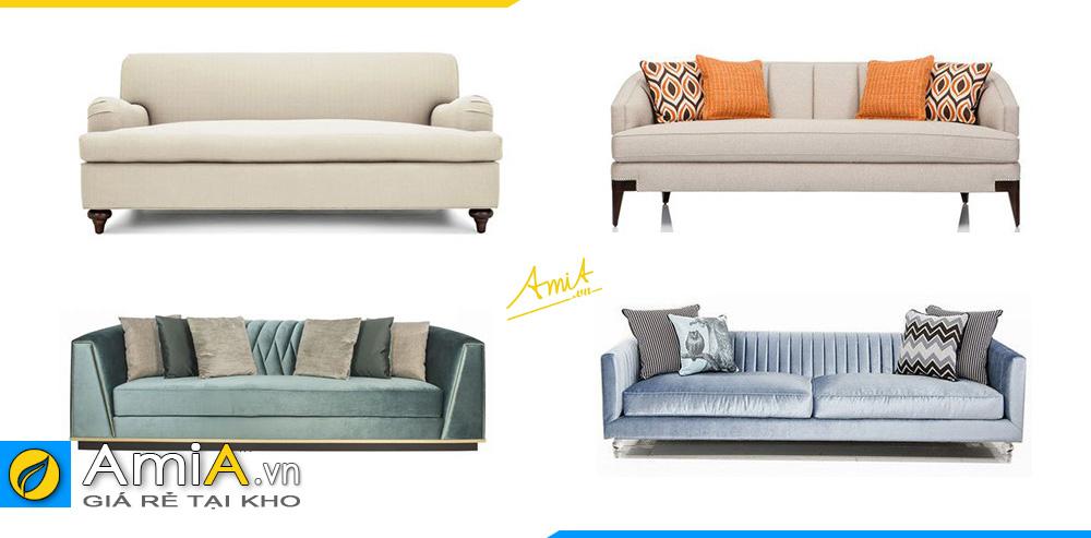 xem ngay những mẫu sofa văng chất liệu vải nỉ cho quán cafe