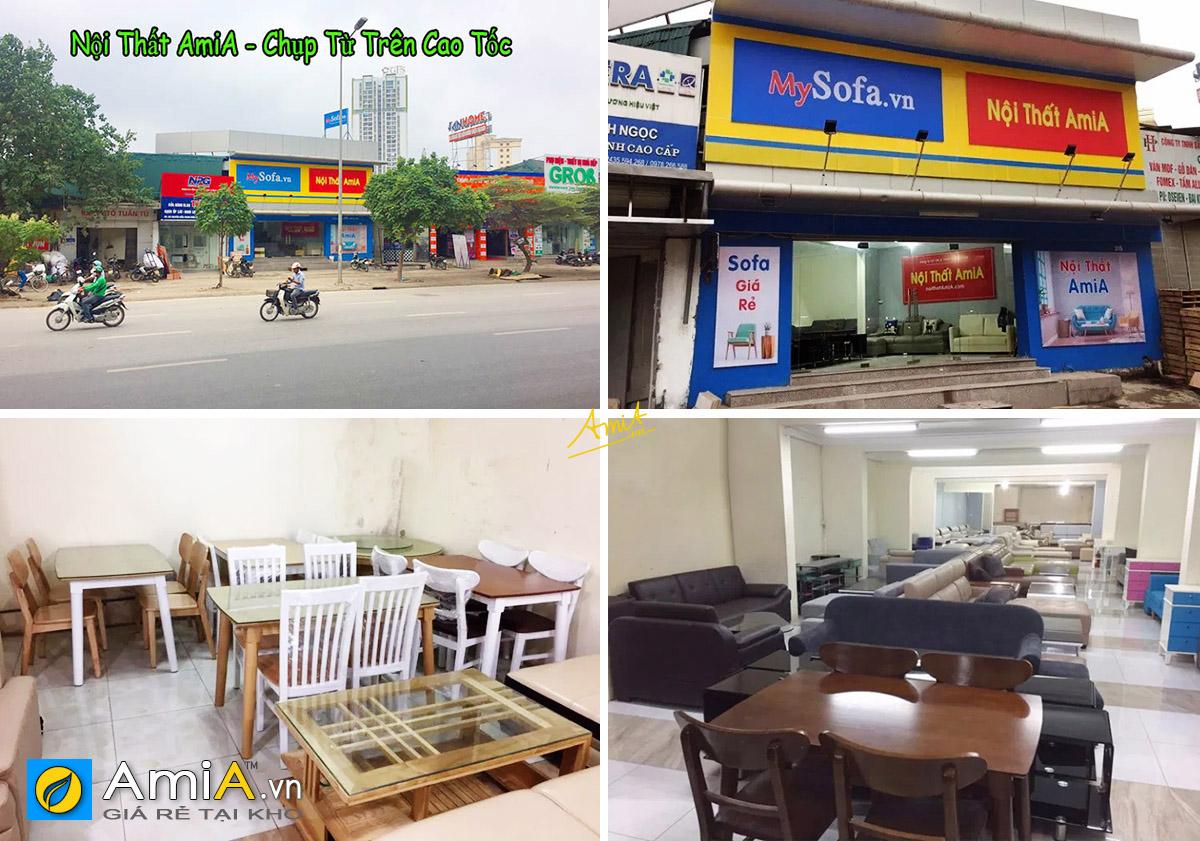 Hình ảnh Địa chỉ cửa hàng bán bàn ghế ăn tại Hà Nội - Nội thất AmiA