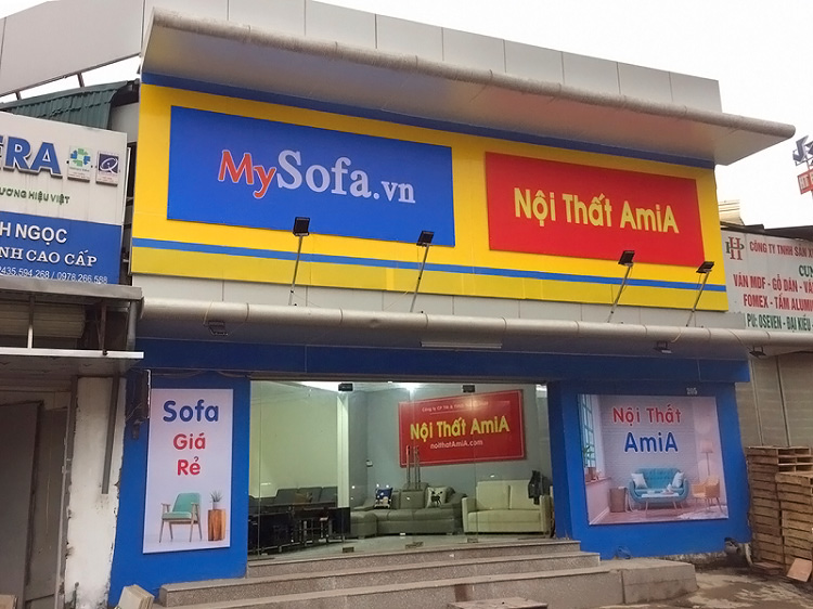 AmiA- địa chỉ mua sofa gỗ khu vực Thanh Xuân, Hà Nội