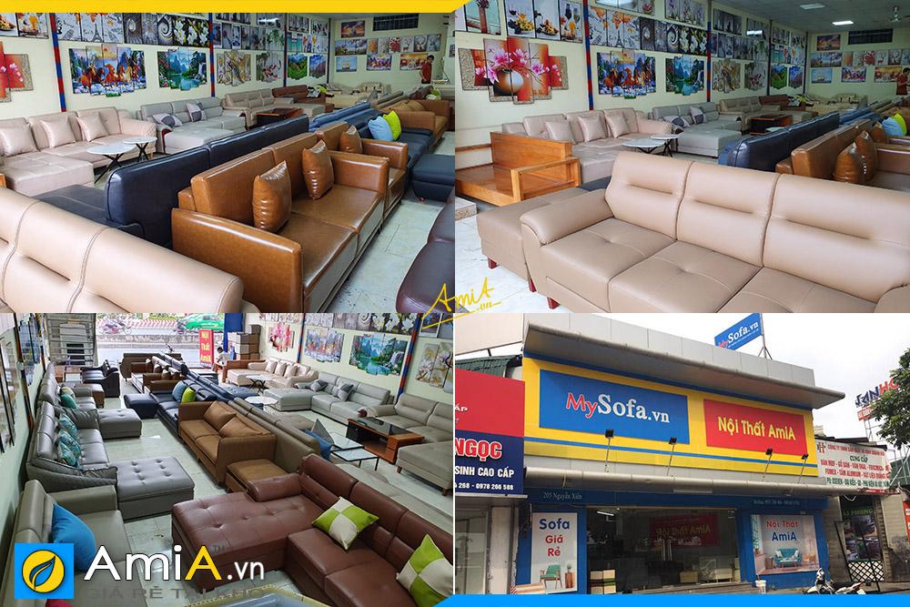 đa dạng màu sắc sofa văng bày bán đa dạng chất liệu kích thước