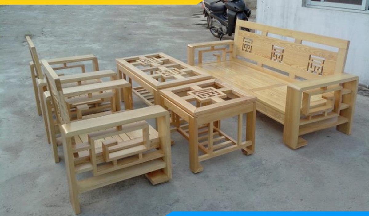 Bộ bàn ghế gỗ dưới 10 triệu cho mọi gia đình