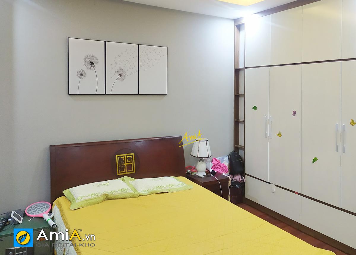 Hình ảnh Tranh trang trí phòng ngủ đẹp nhẹ nhàng mã 1860
