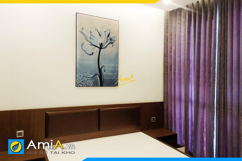 Hình ảnh Tranh treo phòng ngủ đẹp hiện đại hoa xray nghệ thuật AmiA 1849
