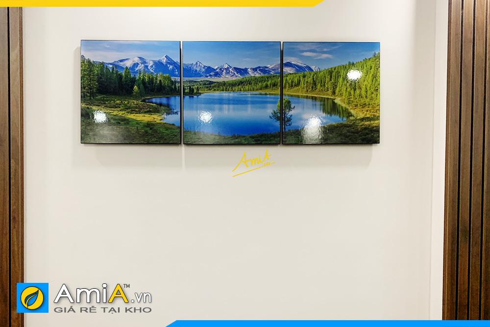 Hình ảnh Tranh treo tường phòng ngủ chủ đề phong cảnh đẹp nhẹ nhàng