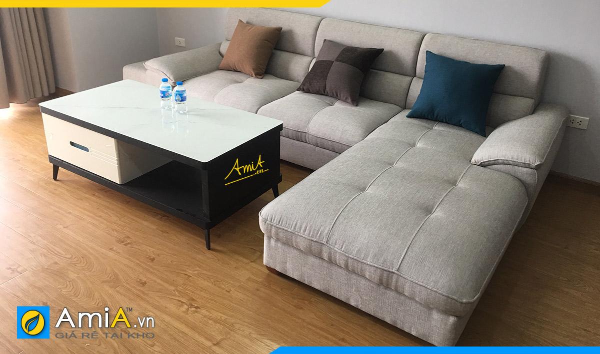 Bộ ghế sofa góc chữ L hiện đại