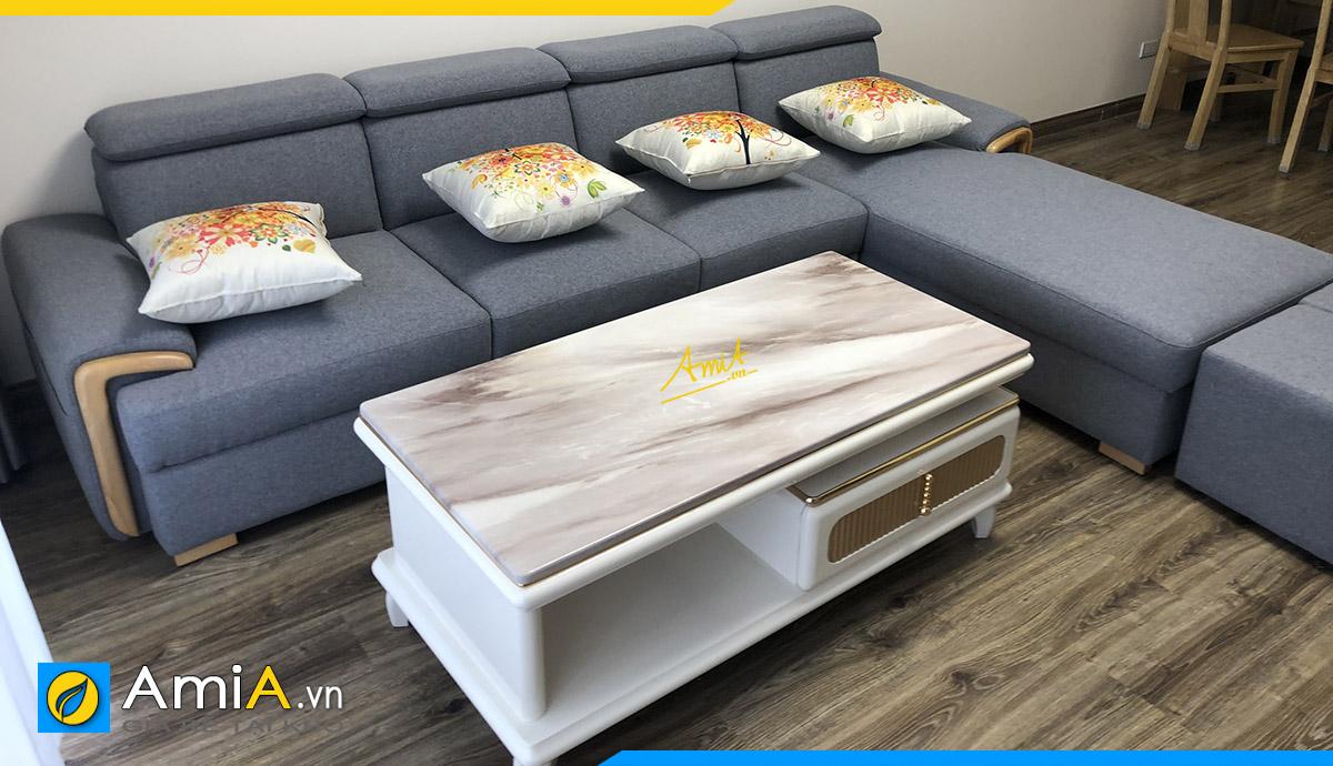 Hình ảnh thực tế ghế sopha góc tại Chung cư Trương Định Complex, Ngõ 129, Trương Định, Hai Bà Trưng