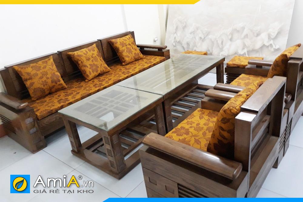 Giá bán sofa gỗ Sồi rẻ