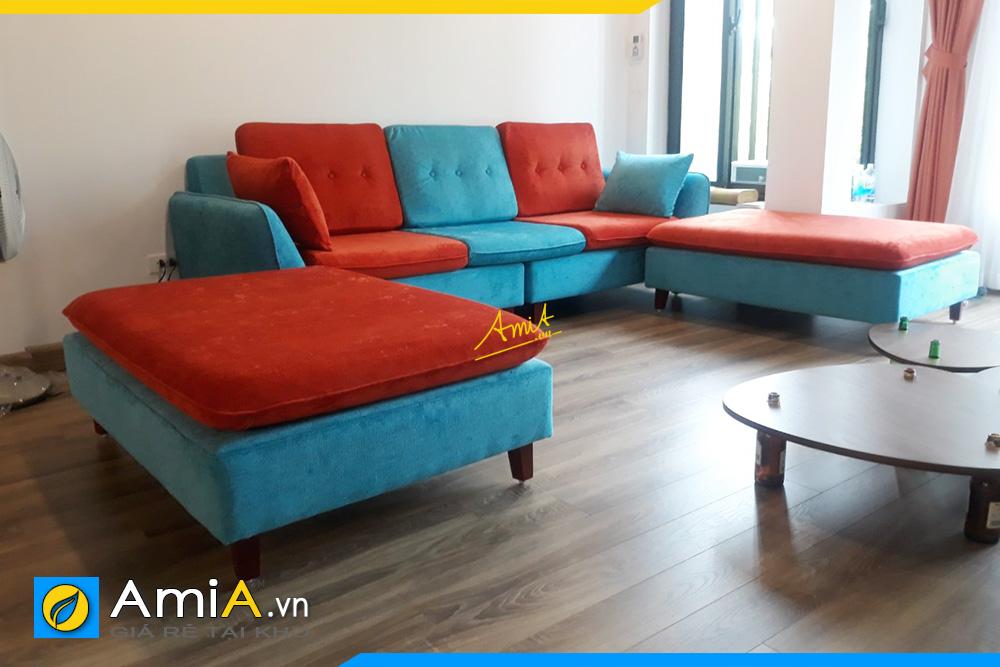hình ảnh bộ ghế sofa băng đẹp hiện đại cho phòng khách