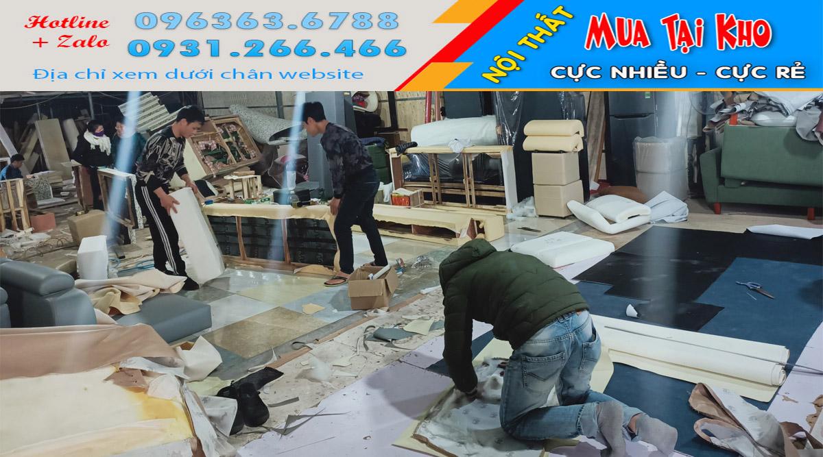 Xưởng sản xuất sofa Hà Nội có nhận đóng sofa theo yêu cầu riêng khách hàng