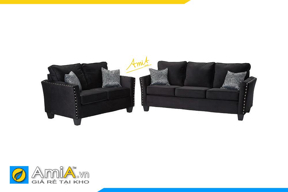 các mẫu ghế sofa băng vải nỉ đẹp hiện đại giá rẻ hà nội