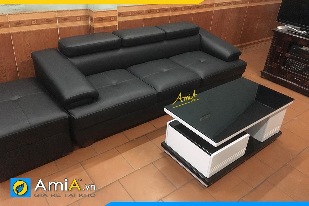 những mẫu ghế sofa văng da đẹp