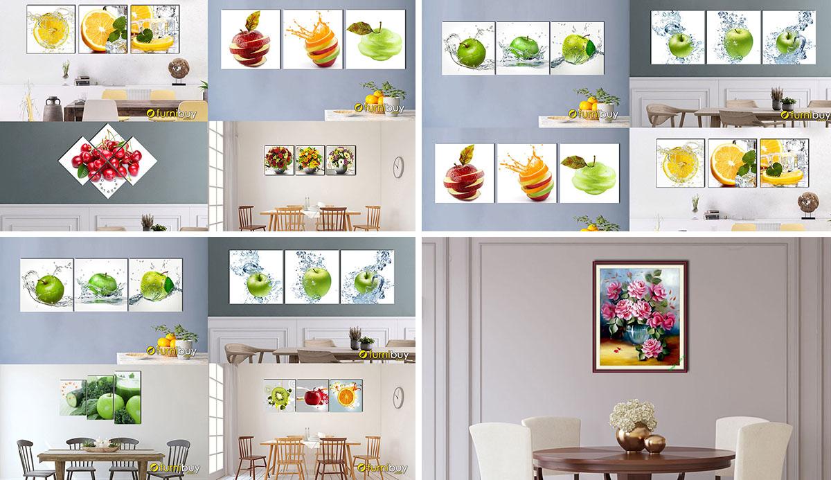 Hình ảnh Các mẫu tranh phòng ăn phòng bếp đẹp giá rẻ dưới 1 triệu cực nhiều mẫu
