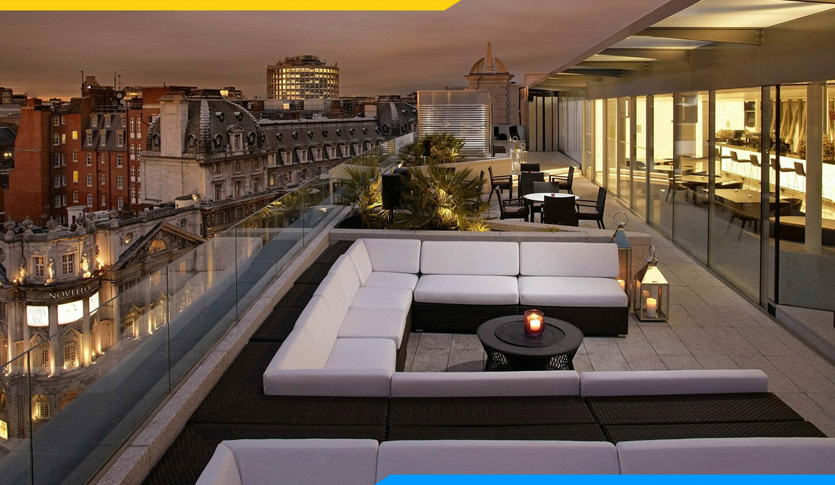 Bộ bàn ghế sofa góc cafe kê ngoài trời- không gian riêng tư dành riêng cho nhóm đông người