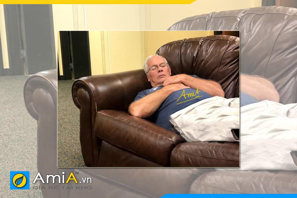 chọn sofa văng cho nhà có người già cực chuẩn