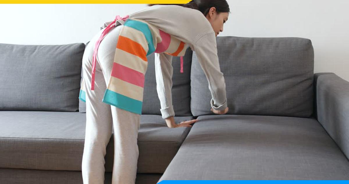 Phải vệ sinh thường xuyên bộ sofa trong quá trình sử dụng
