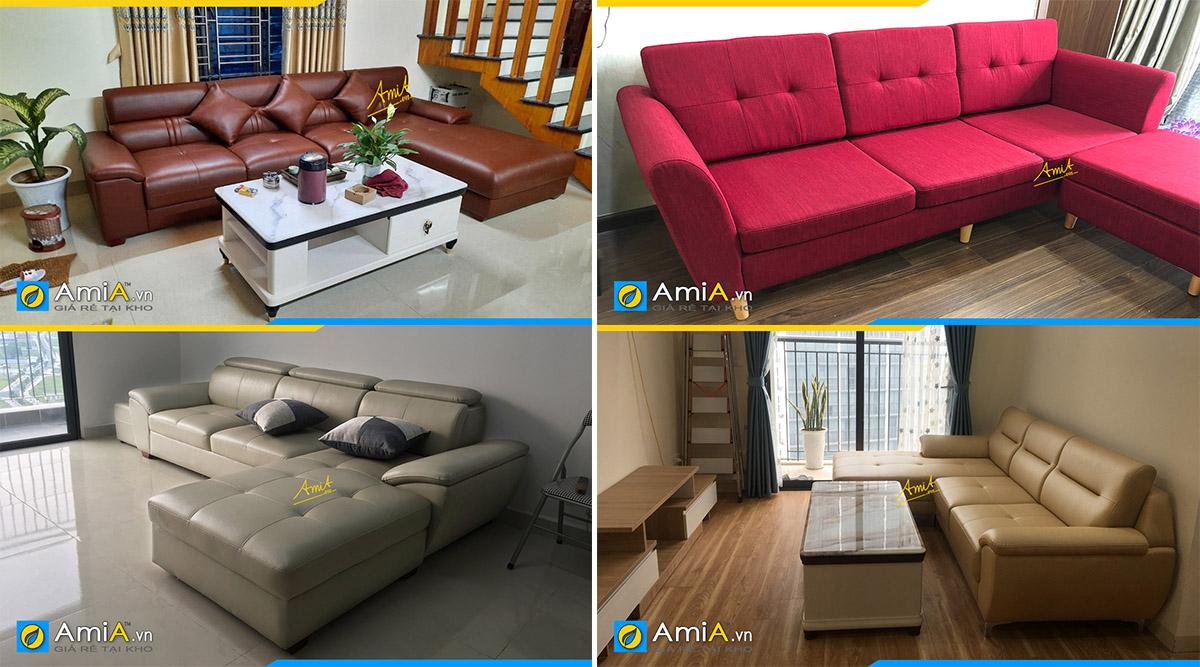 Các hướng kê sofa góc phù hợp với các mệnh khác nhau