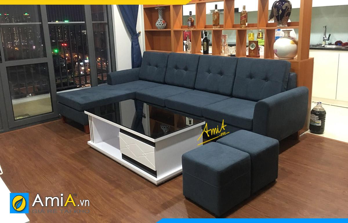 Kích thước sofa góc hợp phong thủy và phù hợp với không gian kê