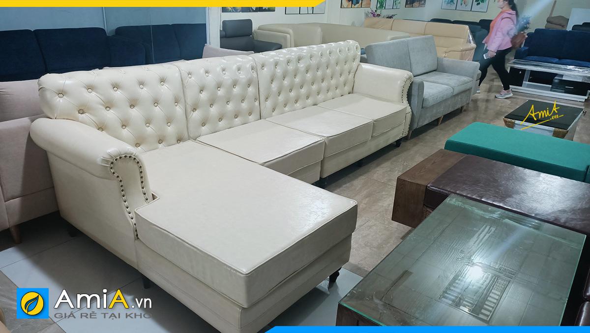 Xu hướng chọn sofa góc tân cổ điển cho nhà ngày nay
