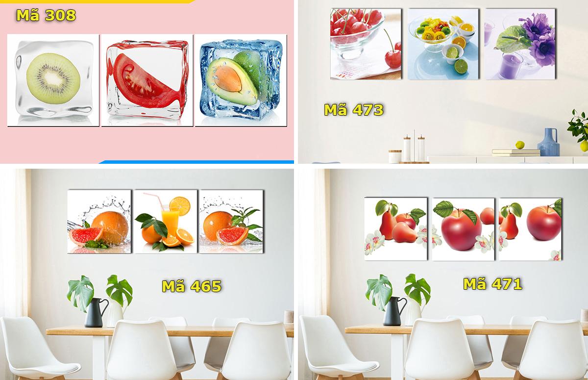Hình ảnh Tranh phòng ăn nhà bếp giá rẻ dưới 1 triệu bán sẵn tại AmiA