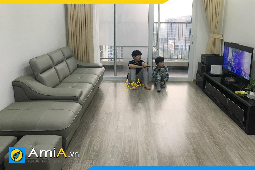 sofa phong khach chung cu hien dai