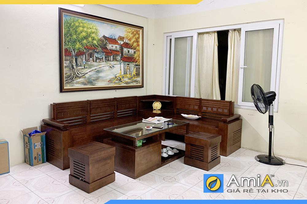 bàn ghế gỗ đẹp phòng khách