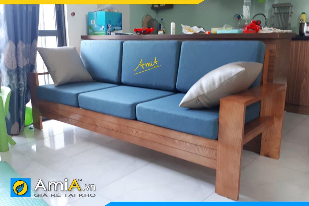 Sofa gỗ sồi SFG 210621