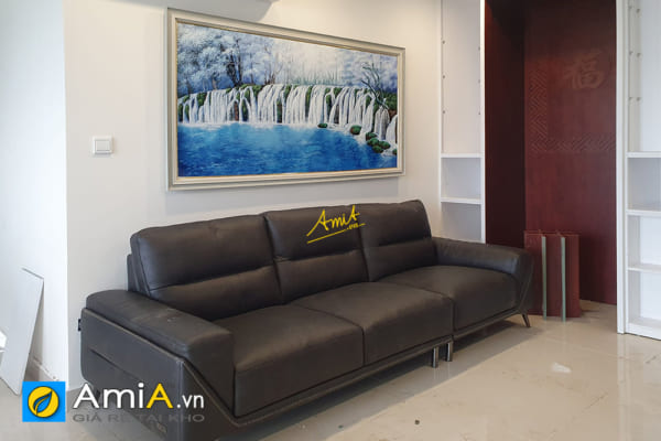Hình ảnh Tranh treo phòng khách đẹp chung cư hình ảnh thác nước AmiA TSD TN01