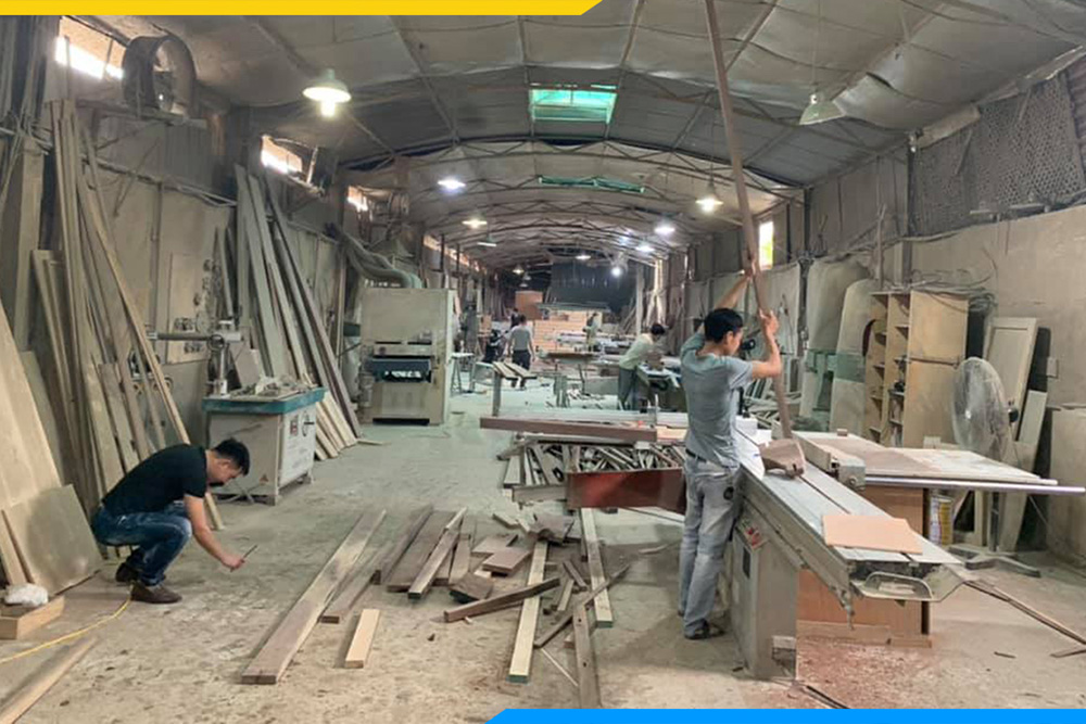 xưởng sản xuất sofa gỗ Hà Nội