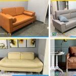 kích thước sofa da microfiber