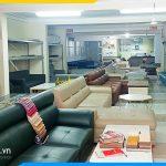 cửa hàng bán sofa da microfibera