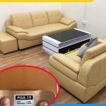 ưu điểm sofa da microfiber