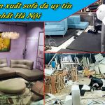 xưởng sản xuất sofa da giá rẻ uy tín hà nội