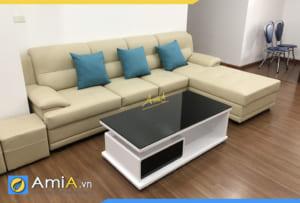 ghê sofa góc chữ L đẹp giá rẻ AmiA308