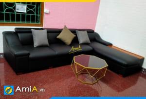 Ghế sofa góc đẹp hiện đại AmiA322