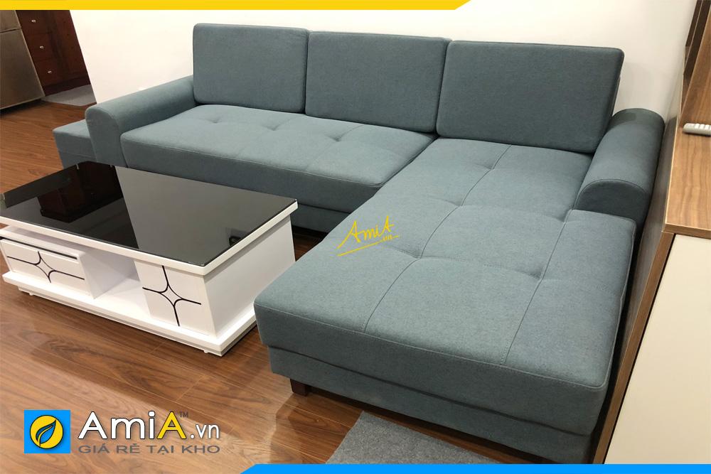 ghế sofa góc nỉ thô