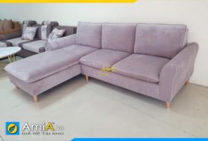 Ghế sofa góc nỉ vải đẹp giá rẻ