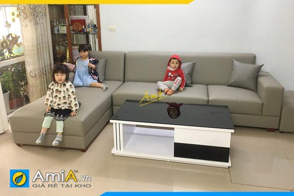 sofa góc đẹp hiện đại Amia 332