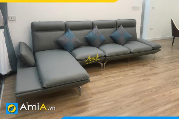 sofa góc bắc âu đẹp amiA328
