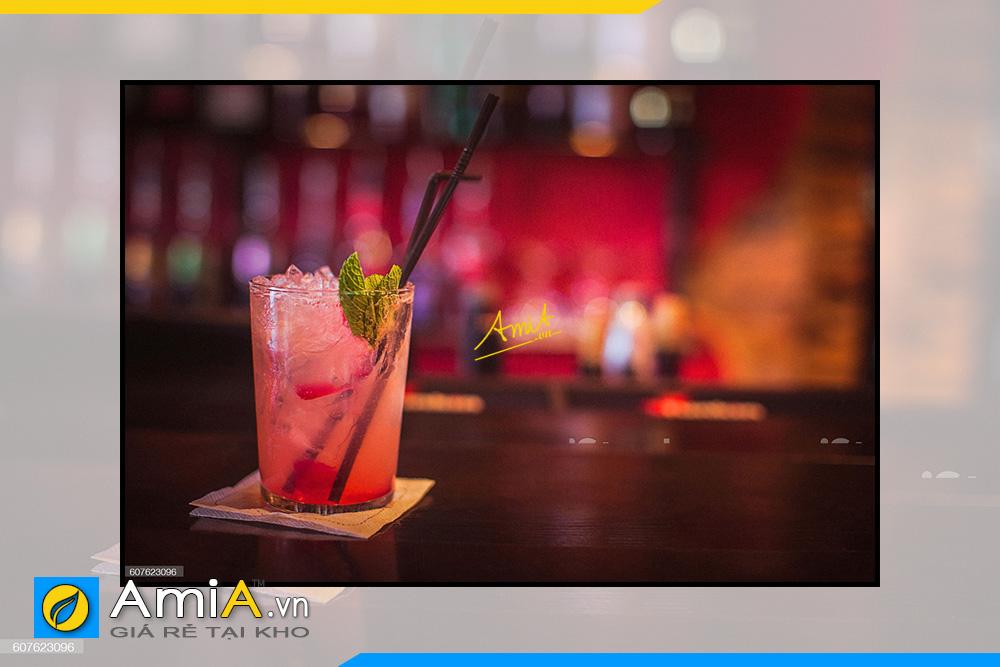 Hình ảnh Tranh treo tường quán bar khách sạn đẹp hiện đại