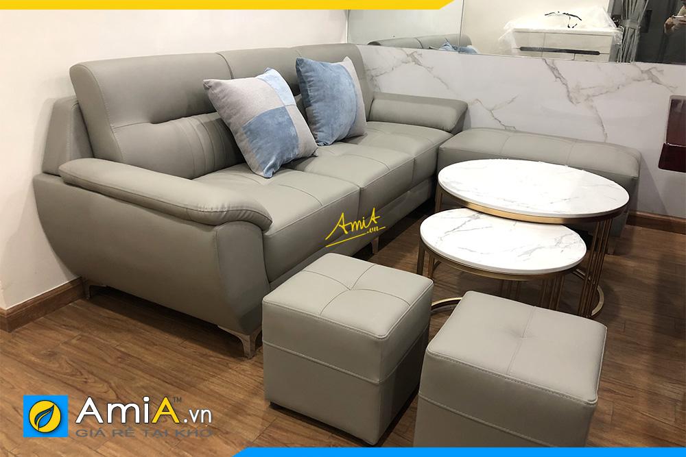 ghe sofa vang 2 cho ngoi cho phong khach nho