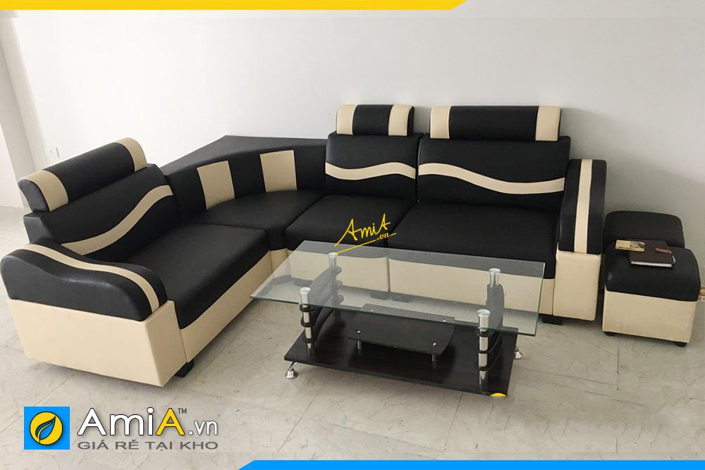 sofa da phong khach tam gia 3 trieu gia re